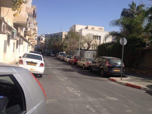 חנייה ברחוב מגן אברהם 1
