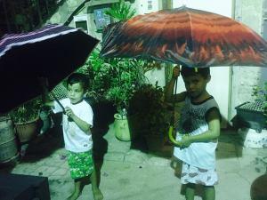 ריקוד המטריות