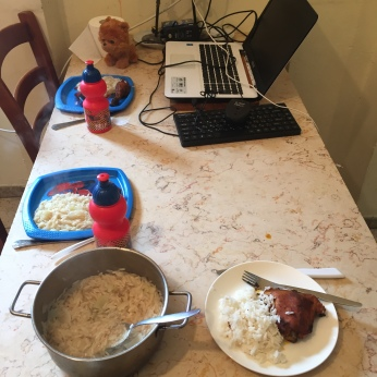 ארוחת הצהריים שלנו